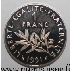FRANCE - KM 925 - 1 FRANC 1991 - TYPE SOWER