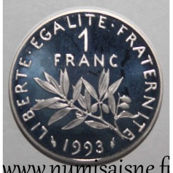 FRANCE - KM 925.2 - 1 FRANC 1993 - TYPE SOWER