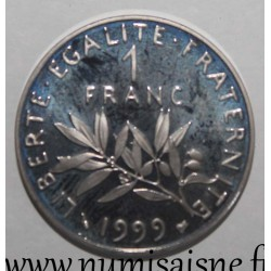 FRANCE - KM 925 - 1 FRANC 1999 - TYPE SOWER