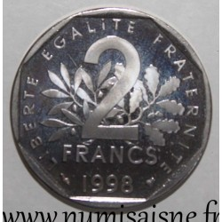 FRANCE - KM 942.2 - 2 FRANCS 1998 - TYPE SOWER