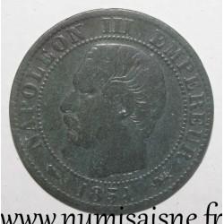 FRANCE - KM 777 - 5 CENTIMES 1854 D - Lyon - TYPE NAPOLEON III