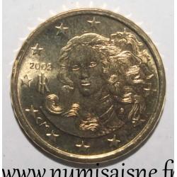 ITALY - KM 213 - 10 EURO CENT 2002 - FROM SANDRO BOTTICELLI