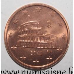 ITALY - KM 212 - 5 EURO CENT 2002 - ROME COLISEUM
