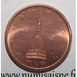 ITALY - KM 211 - 2 EURO CENT 2002 - ANTONELLIANA MÔLE