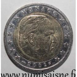 MONACO - KM 174 - 2 EURO 2002 - PRINCE RAINIER