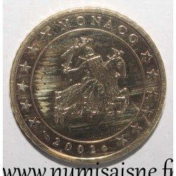 MONACO - KM 172 - 50 CENT EURO 2002 - KNIGHT GRIMALDI