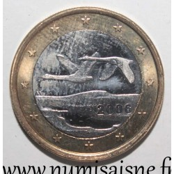 FINLAND - KM 104 - 1 EURO 2006 - SWANS