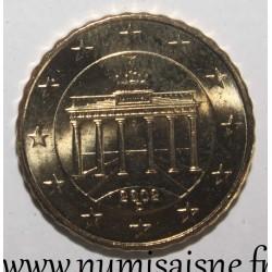 GERMANY - KM 210 - 10 EURO CENT 2002 D - Munich