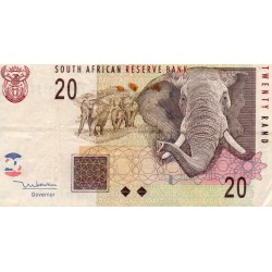 SOUTH AFRICA - PICK 129 a - 20 RAND - 2005 - ELEPHANTS