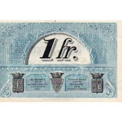 COUNTY 43 - LE PUY - CHAMBER OF COMMERCE - 1 FRANC - 10/10/1916 - SERIE D