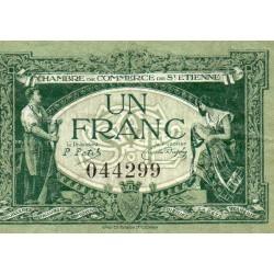 42 - SAINT-ETIENNE - CHAMBER OF COMMERCE - 1 FRANC - 12/01/1921
