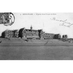 County - 62600 - PAS DE CALAIS - BERCK-PLAGE - DONKEYS IN THE FUNNEL