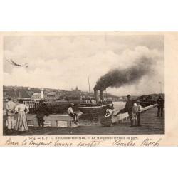 """County - 62200 - PAS DE CALAIS - BOULOGNE-SUR-MER - """"LA MARGUERITE"""" ENTERING THE PORT"""
