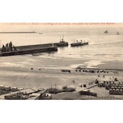 County - 62200 - PAS DE CALAIS - BOULOGNE-SUR-MER - THE BEACH AND THE THROWS