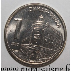 SERBIA - KM 34 - 1 DINARS 2003 - National bank