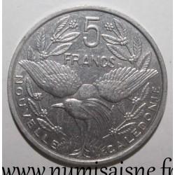 NEW CALEDONIA - KM 16 - 5 FRANCS 2005 - CAGOU