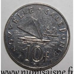 NEW CALEDONIA - KM 11 - 10 FRANCS 1992
