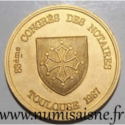 County 31 - TOULOUSE - NOTARIES CONGRESS - 1987