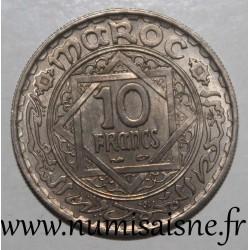 MOROCCO - Y 44 - 10 FRANCS 1947 - AH 1366