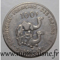 AFARS AND ISSAS - KM 19 - 100 FRANCS 1975