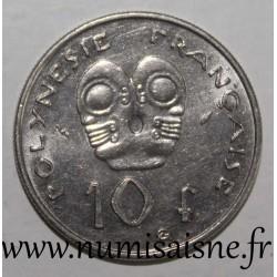 FRENCH POLYNESIA - KM 8 - 10 FRANCS 1983