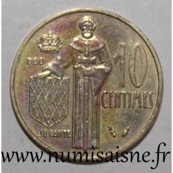 MONACO - KM 142 - 10 CENTIMES 1979 - RAINIER III