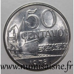 BRAZIL - KM 580b - 50 CENTAVOS 1978