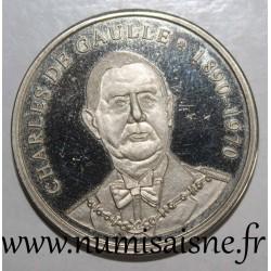 MEDAL - CHARLES DE GAULLE - 1890-1970