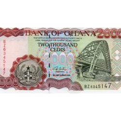 GHANA - PICK 33 a - 2000 CEDIS - 2002