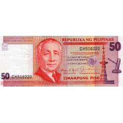 PHILIPPINES - PICK 171 a - 50 PISO - NO DATE (1987-94)