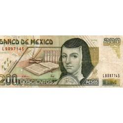 MEXIQUE - PICK 109 b - 200 PESOS - 10/05/1996
