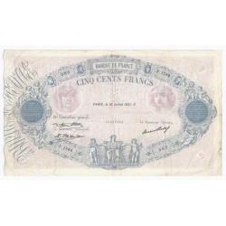 FAY 30/34 - 500 FRANCS BLEU ET ROSE - 16/07/1931 - TRES TRES BEAU - PICK 66