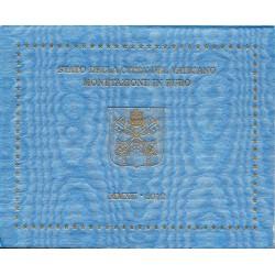 VATICAN - UNIVERSAL BRILLIANT EURO 2012 BOX - 8 COINS (3.88 euros)