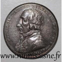 MEDAILLE - MEDiCINE - ANTOINE PORTAL - 1809 - 1810