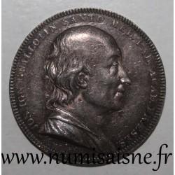 MEDAILLE - MEDiCINE - JOSEPH IGNACE GUILLOTIN - 1807