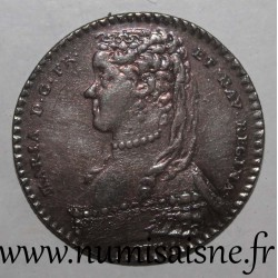 MEDAILLE - QUEEN OF FRANCE - MARIE LESZCZYNSKA - 1742