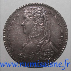 MEDAILLE - QUEEN OF FRANCE - MARIE LESZCZYNSKA - 1743
