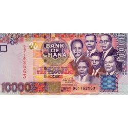 GHANA - PICK 35 a - 10 000 CEDIS - 02/09/2002