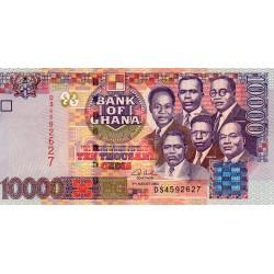 GHANA - PICK 35 b - 10 000 CEDIS - 04/08/2003