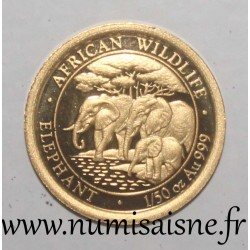 SOMALIA - 20 SHILLINGS 2013 - ELEPHANTS