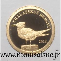 TOKELAU - 5 DOLLAR 2012 - THALASSEUS BERGII
