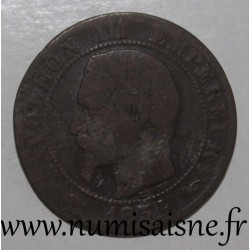 FRANCE - KM 771 - 10 CENTIMES 1854 A - Paris - TYPE NAPOLEON III
