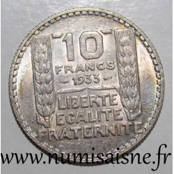FRANCE - KM 878 - 10 FRANCS 1933 - TYPE TURIN