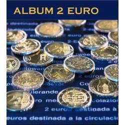 ALBUM NUMIS POUR PIÈCES DE 2 EUROS COMMÉMORATIVES - TOME 1 (2004/2007)
