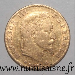 FRANCE - KM 803 - 5 FRANCS 1866 A - Paris - NAPOLEON III - GOLD