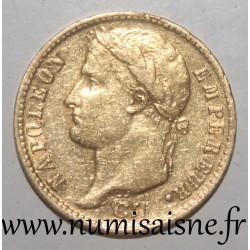 FRANCE - KM 695 - 20 FRANCS 1810 A - Paris - NAPOLEON 1st - REVERSE 'EMPIRE'