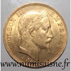 FRANCE - KM 804 - 50 FRANCS 1866 BB - Strasbourg - OR - NAPOLEON III