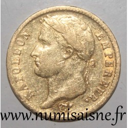 FRANCE - KM 695 - 20 FRANCS 1813 A - Paris - NAPOLEON 1st - REVERSE 'EMPIRE'