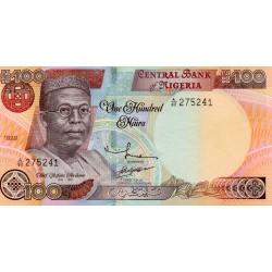 NIGERIA - PICK 28 b - 100 NAIRA 1999