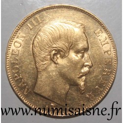 FRANCE - KM 785 - 50 FRANCS 1859 A - Paris - GOLD - TYPE NAPOLEON III